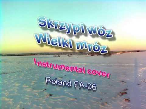 Skrzypi Wóz Instrumental Cover Roland FA-06