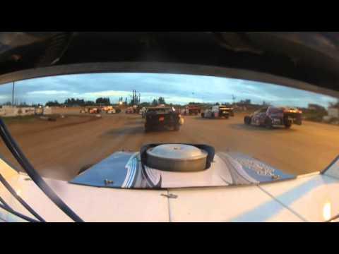 Jason Voigt at Hibbing Raceway
