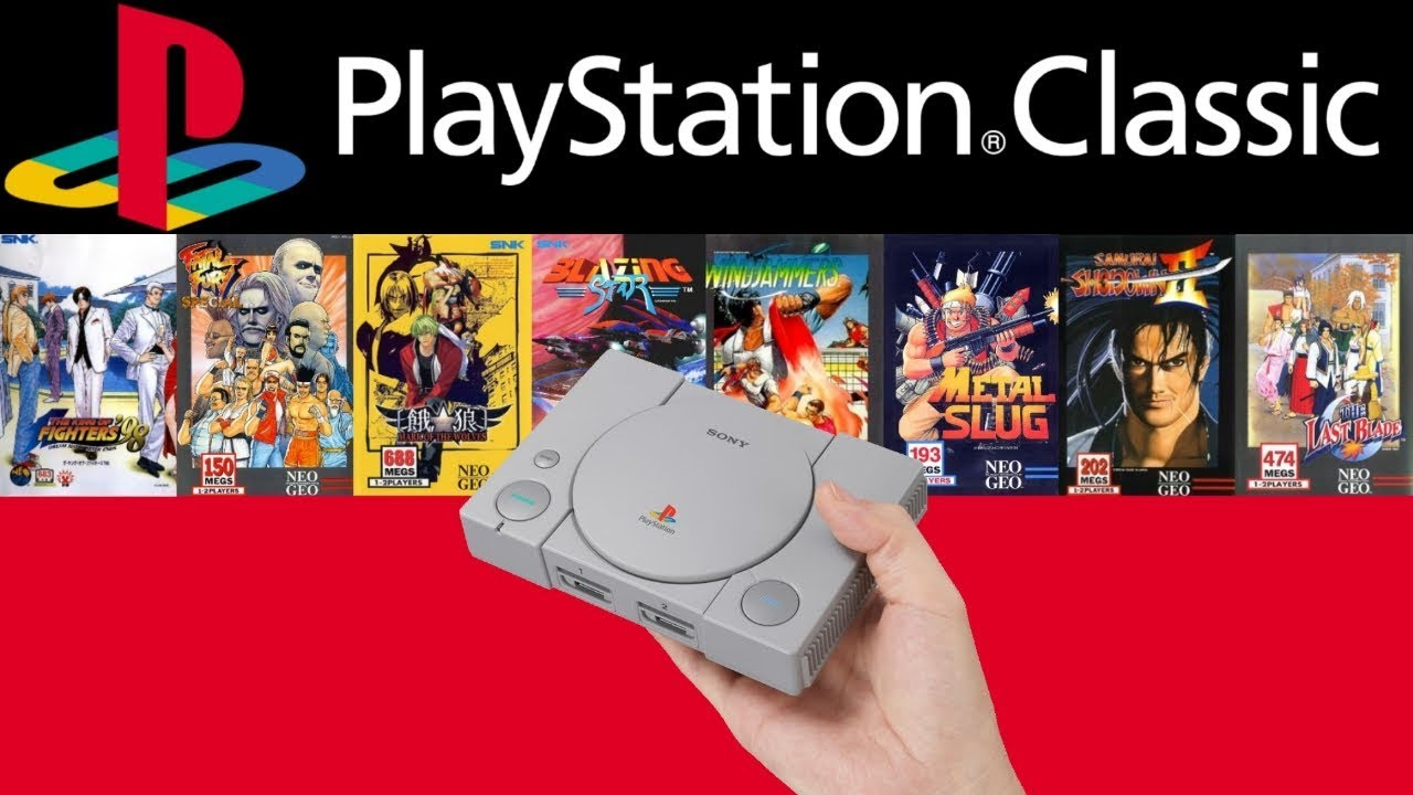 Neo Geo games on the PlayStation Classic, RetroArch | HOW TO  プレイステーションクラシック改造:ネオジオゲームを追加してみた