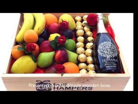 Valentine Gifts - Fruit Hampers & Fruit Baskets
