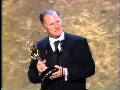 Gordon Clapp wins 1998 Emmy Award for Supporting Actor in a Drama Series