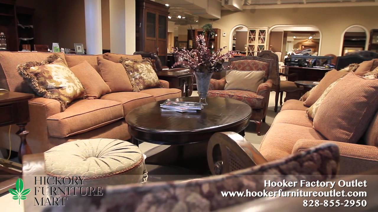 Hooker Factory Outlet   Hickory Furniture Mart In Hickory, NC   YouTube