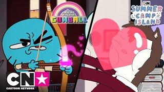 Гамбол + Летний лагерь | Сладкие парочки | Cartoon Network