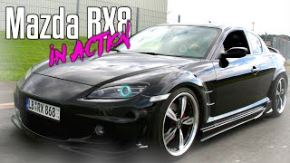 My Tuned Mazda RX 8 in Action !!!