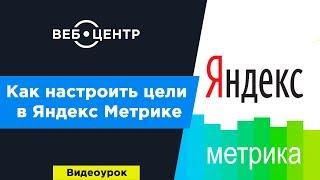 Как настроить цели в Яндекс.Метрике l Видеоурок