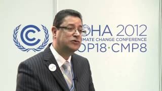 COP18: Aly Abou Sabaa, Vice President of the African Development Bank