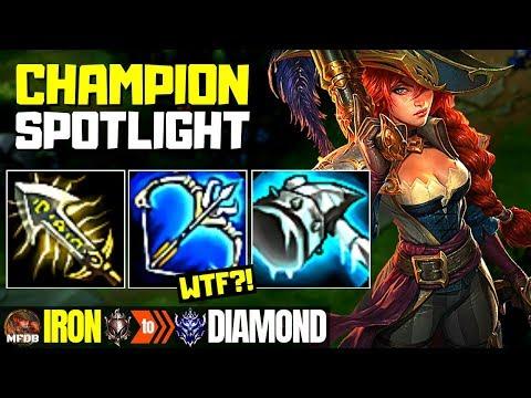 Miss Fortune Champion Spotlight Miss Fortune - Iron to Diamond Episode #12 (Season 9)