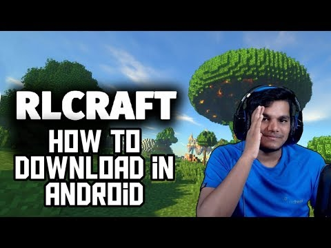 How To Download Rlcraft In Android ,rlcraft In Minecraft Pe In Android,blacklue Gaming, Beastboyshub