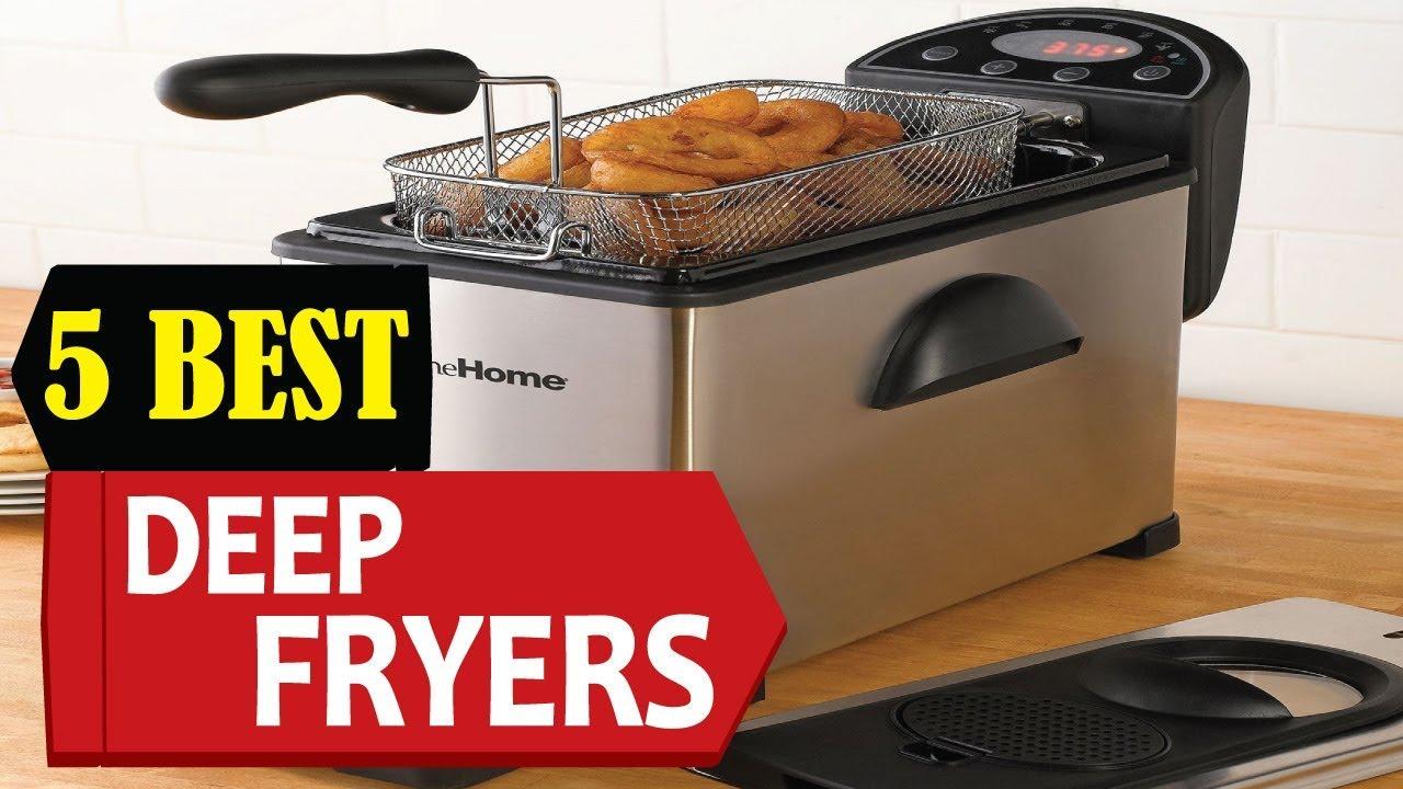 5 Best Deep Fryer 2018 | Best Deep Fryer Reviews | Top 5