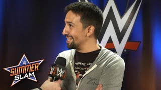 Lin-Manuel Miranda reveals how long he's been a WWE fan: Exclusive, Aug. 20, 2017
