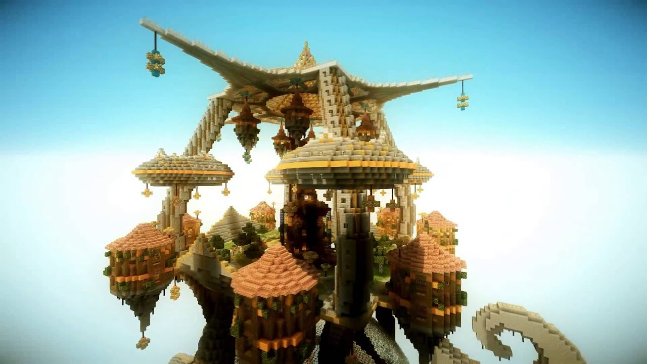 Minecraft Mapvorstellung Air Garden YouTube