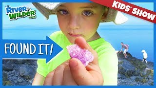 KIDS FIND GEMS ON FAMILY VACATION | YOUTUBE FOR KIDS