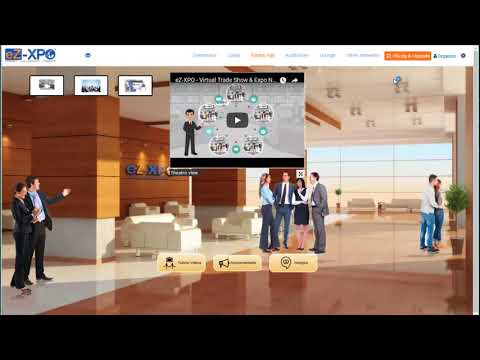 How to Launch a Virtual Training Conference using Virtual Expo Network