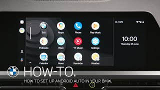 How to set up Android Auto in your BMW – BMW How-To