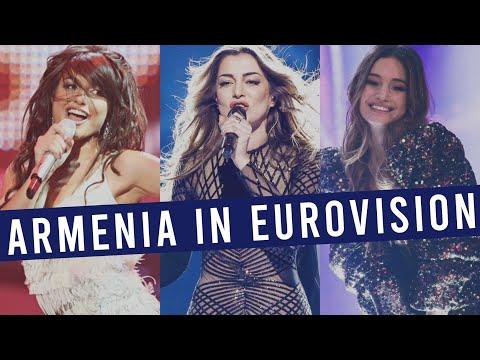 Armenia in Eurovision: MY TOP 14 (2006-2020)
