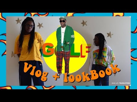 tyler the creator inspired lookbook with thrifted finds! + Vlog!