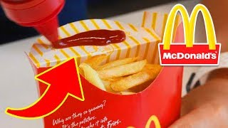 10 McDonald's Fries Hacks You Wish You Always Knew