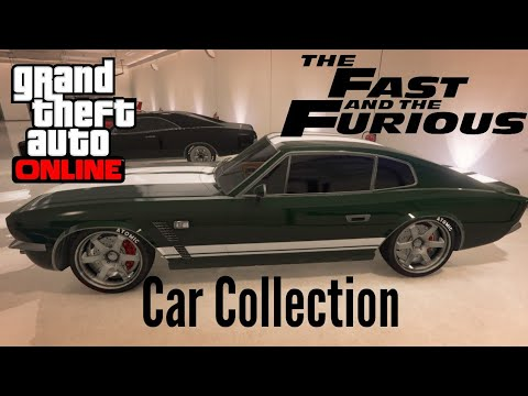 The Fast And The Furious Car Collection - GTA 5 Online Garage Tour