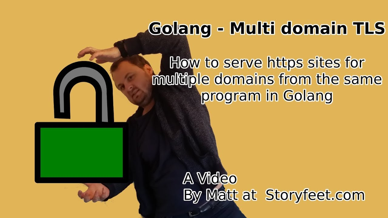 Golang - TLS/Https for multiple domains and redirect from http