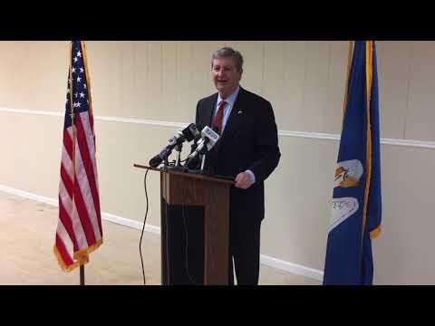 Sen. John Kennedy praises HUD Secretary Ben Carson