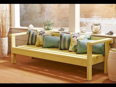 מדריך בניית ספסל מעץ  |  איך מכינים ספסל מעץ