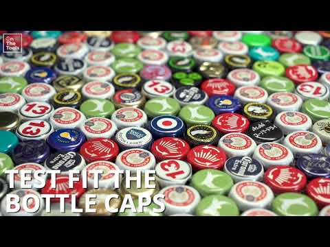 How To Make A Bottle Top Table