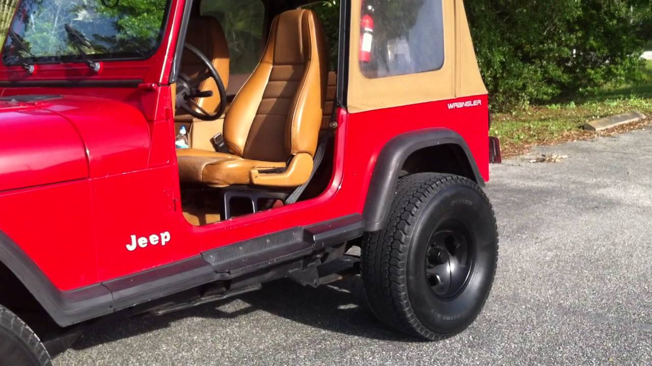 Jeep Wrangler Yj 33s Lifted 2 12s Subs Straight Pipe Youtube