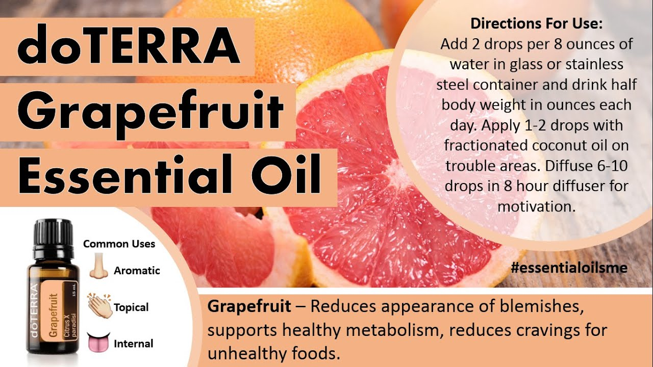 Best Doterra Grapefruit Essential Oil Uses