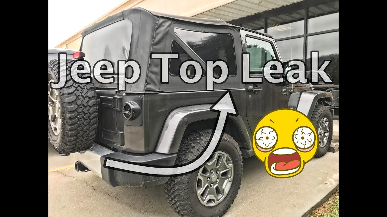 How I Fixed My Jeep Wrangler Leaky Top Repair Update Jeep Jk