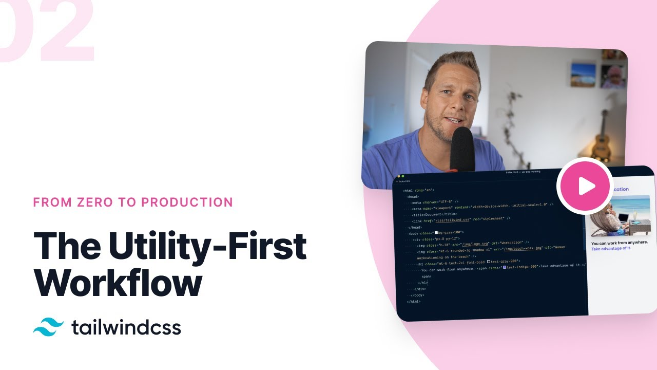The Utility-First Workflow – Tailwind CSS: From Zero to Production