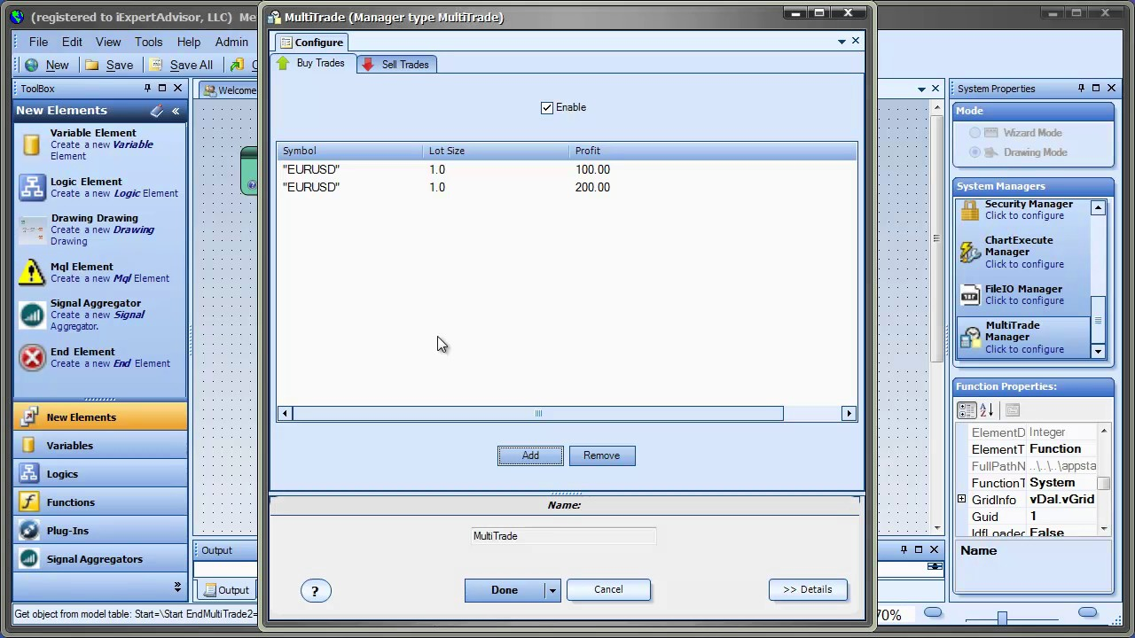 Open Multiple Trades In Your Mt4 Ea Using The Multitrade Plug In