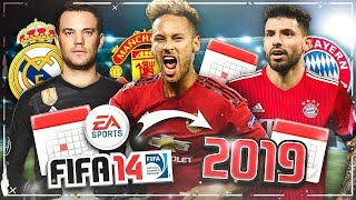 SO sieht der FIFA 14 KARRIEREMODUS im JAHR 2019 aus!! 😱🔥 Alle Top Spieler Vereine Ligen
