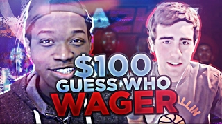 $100 GUESS WHO WAGER VS KING OF THE 4TH QUARTER!!!