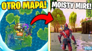 BUG en MODE CREATIVE pour GO TO SEASON MAP 1!! 😱🌌 FORTNITE