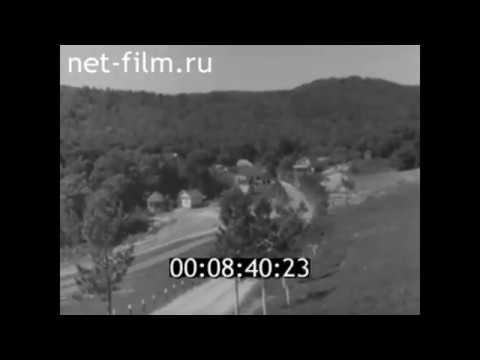 1966г. База отдыха Черемшаны. Хвалынск. Саратовская обл