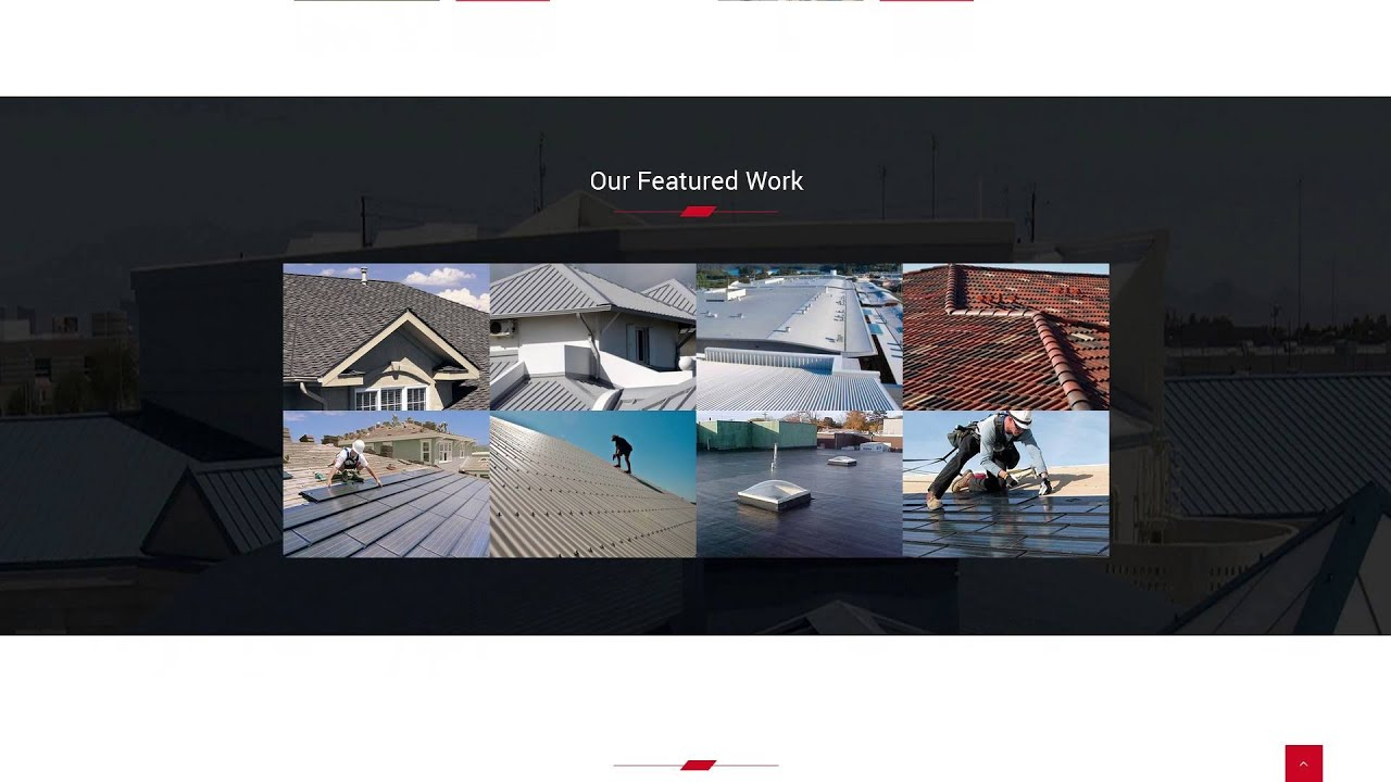 Roofers - Construction and Contractor HTML Template - YouTube