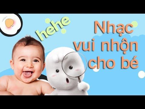 Nhạc vui nhộn cho bé cười thích thú | Nhạc dỗ bé nín khóc siêu hiệu quả [GiupMe.com]