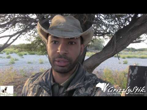 Cameron Mitchell hunting in Botswana - July 2016