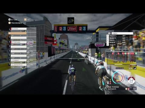 Tour de France 2017 Ps4 Liège Bastogne Liège  - Movistar Team
