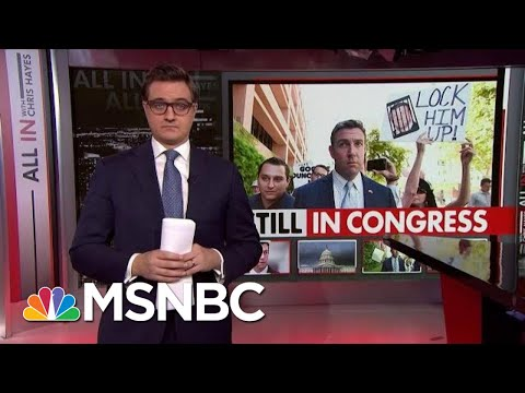 GOP Congressman Still In Congress Despite Guilty Plea | All In | MSNBC