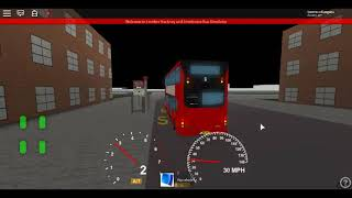 Roblox London Hackney & Limehouse bus Simulator MCV EvoSeti Volvo Hybrid GAL Route D6 to Bethnal