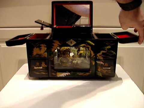 Japanese Jewelry Music Box Toyo YouTube