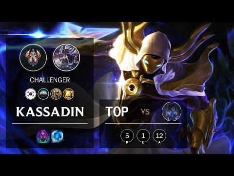Kassadin Top vs Sylas - KR Challenger Patch 10.18