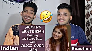 Momina Mustahsan Interview With Voice Over Man | M Bros Reactions.