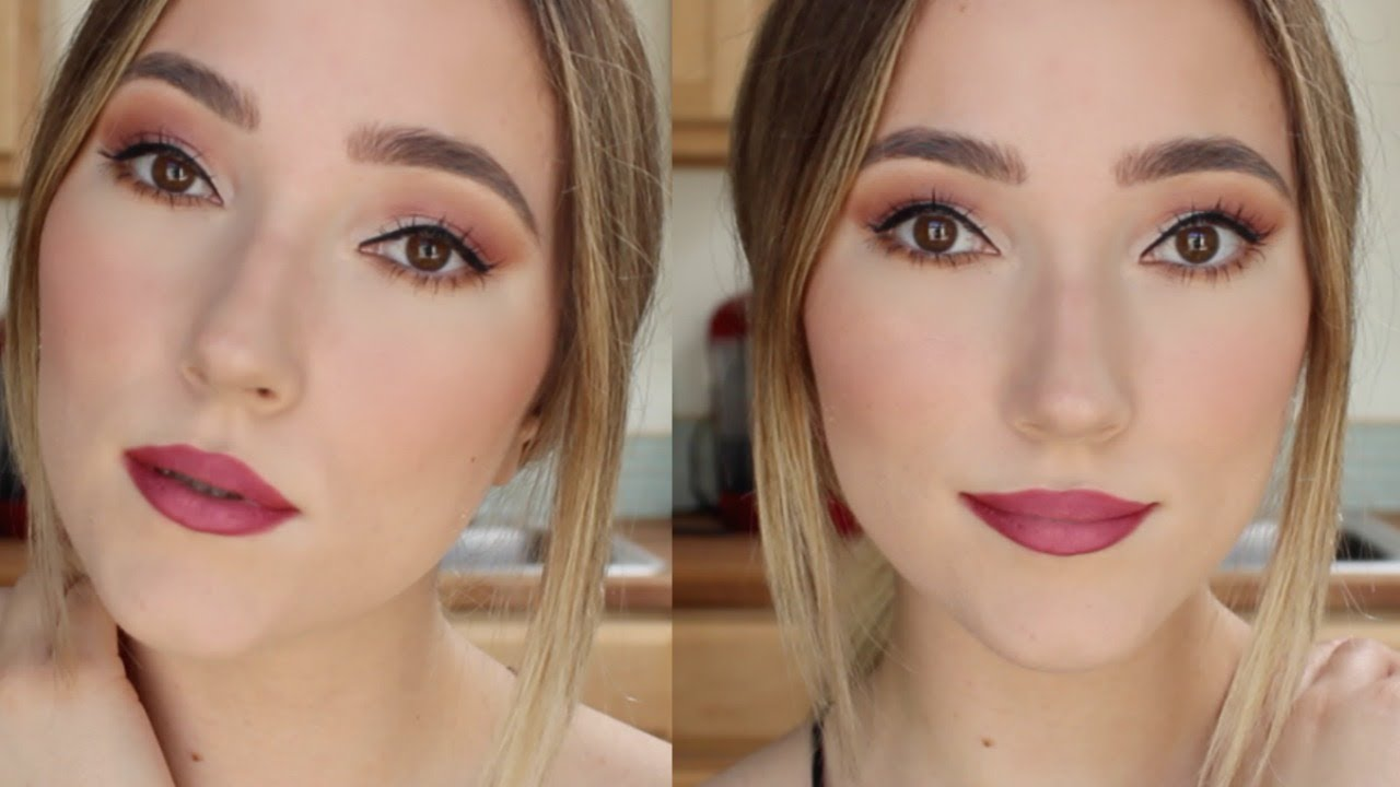 Grwm Summer Wedding Guest Makeup Glam Easy Youtube