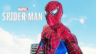Spider-Man PS4 - First Raimi Suit In Game