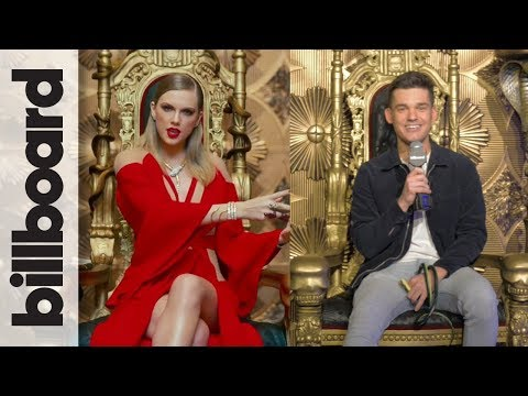 Check Out The Taylor Swift 'Reputation' Pop-Up in NYC With Billboard's Kevan Kenney