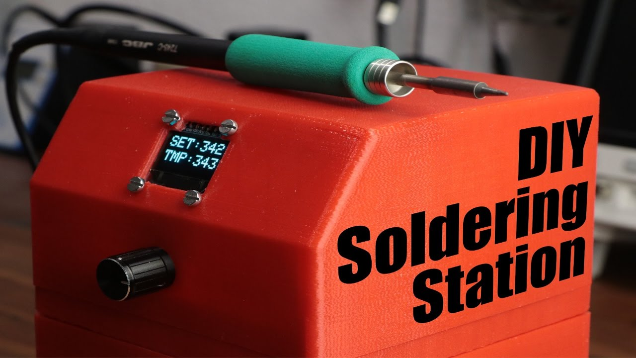 Diy soldering station youtube diy soldering station solutioingenieria Images