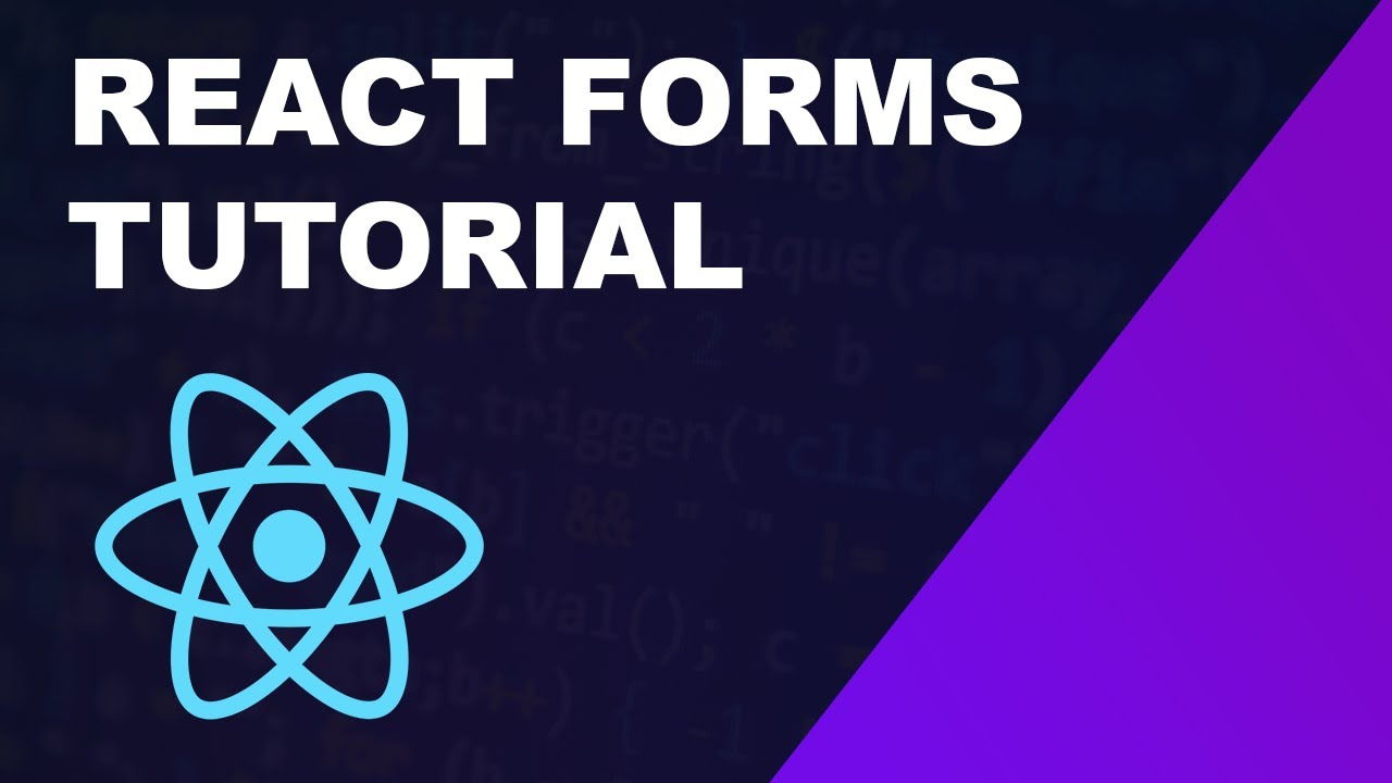 React Forms Full Tutorial - Validation, React-Hook-Form, Yup