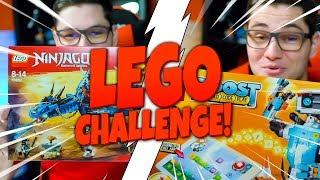 LEGO CHALLENGE! | Ożywiamy smoka! | LEGO Ninjago + LEGO Boost!